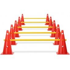 Cone hurdles set of 5 - hurdle system