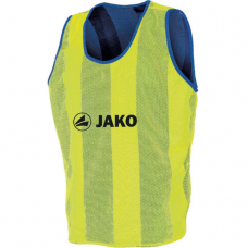 JAKO bibs reversible marker neon yellow royal 12