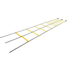 Jako 9m Speed and agility ladder Profi black-yellow