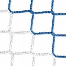 Goal net (blue-white) – 7,32 x 2,44 m, 4 mm PP, 200 200 cm