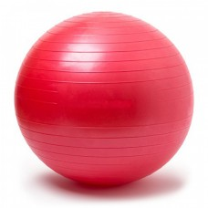 Gymnastics Ball Red Size 65 cm