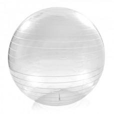 Gymnastics Ball transparent Size 65 cm