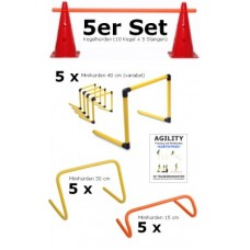 Large Complete set - Mini Hurdles