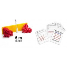 Set – coordination ladder 6m with handle and card index