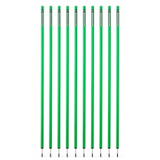 10 Slalom poles 170 cm diameter 32 mm - Green