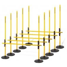 Multi hurdles system 2 (indoor) - Set of 5