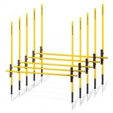 Multi hurdles system 2 (outdoor) – set of 5
