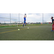 Power Bungee Belt 9 (long) – goal keeper training for the penalty box area