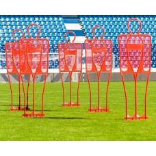 5 professional training dummy 185 cm - red