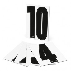 Adhesive numbers for cones - Set (1-10)