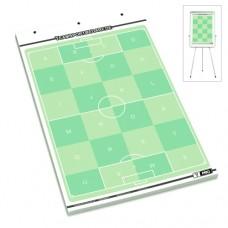 T-PRO Soccer Flipchart Field Block - 25 sheets