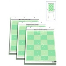Set of 3 - T-PRO Soccer Flipchart Field Blocks