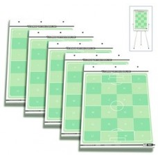 Set of 5 - T-PRO Soccer Flipchart Fields