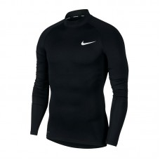 Nike Pro Top LS Tight Mock golf 010
