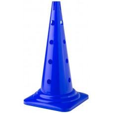 Cone with holes Height 52 cm Blue