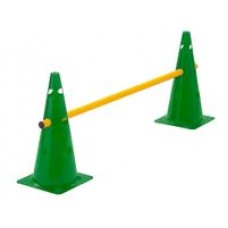 Cone Hurdle Single Hurdle Height 38 cm Green