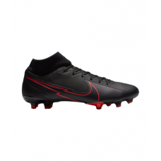 Mercurial Superfly VII Black X Chile Red Academy FG/MG 060