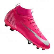 Mercurial Superfly VII Academy Mbappe FG/MG Kids Pink 611