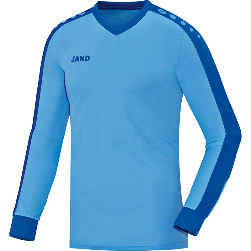 GK jersey Striker sky blue-royal